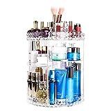 Make-up-Organizer, verstellbare Multifunktions-Kosmetik-Aufbewahrung, große Kapazität, Kosmetik-Vitrine mit 6 Ebenen, Vanity Organizer für Schlafzimmer, Arbeitsplatte