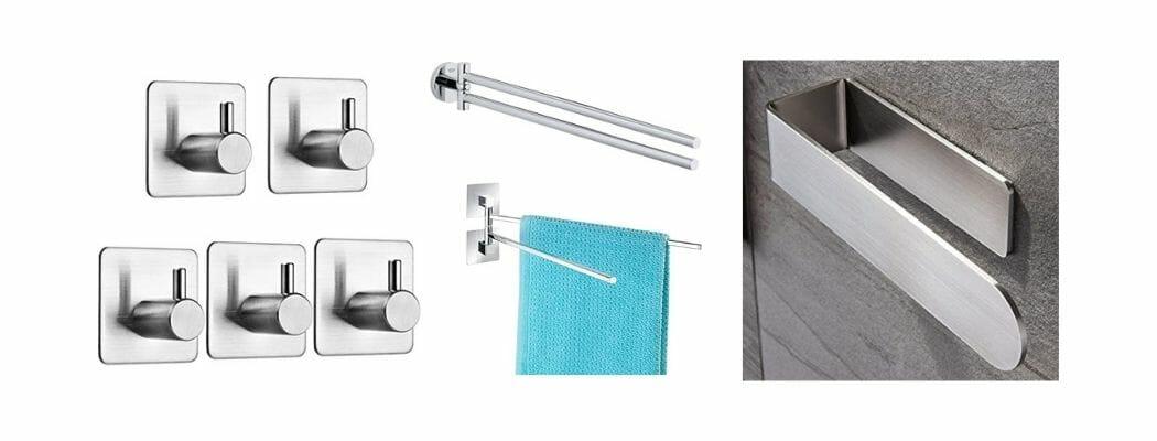 Handtuchhalter für Badezimmer ohne Bohren